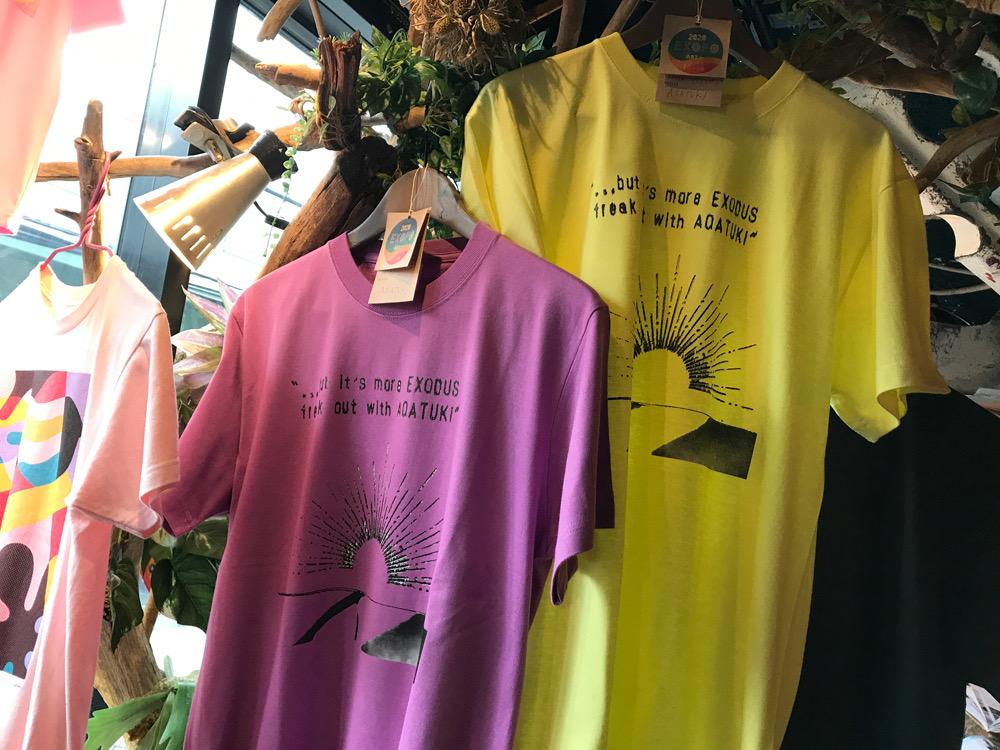 EXOPO2020にTaakiデザインTシャツ登場